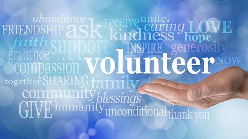 volunteer with us cover image